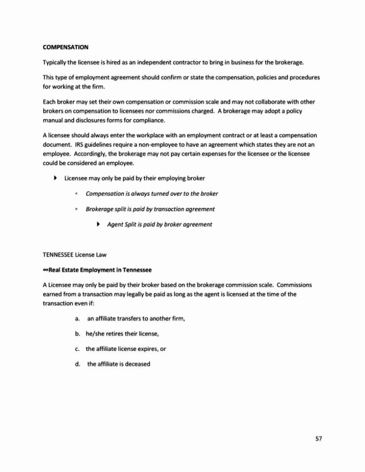 Commission Split Agreement Template Fresh Mission Split Agreement Template Sampletemplatess Sampletemplatess