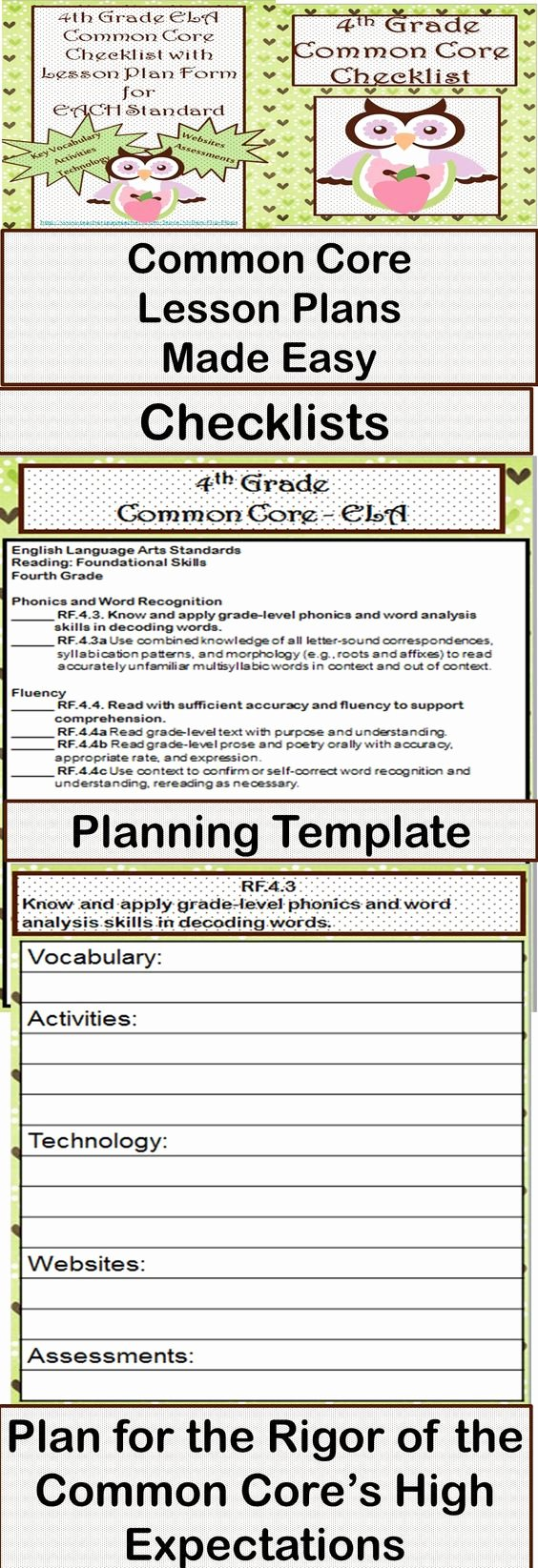 Common Core Lesson Plan Template Fresh Lesson Planning Templates Mon Cores and High