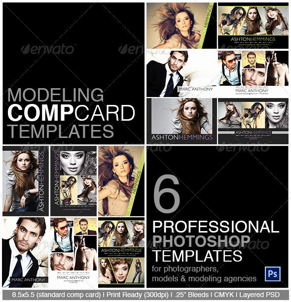 Comp Card Templates Free Awesome Model P Card Shop Template On Behance