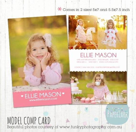 Composite Card Template Free Beautiful Model P Card Shop Template Am001 Instant