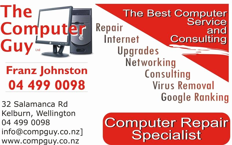 Computer Repair Business Card Beautiful Auckland Puter Repair