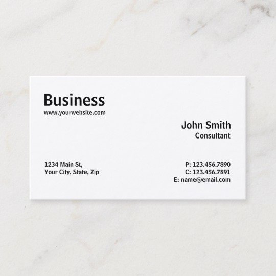 Computer Repair Business Card Best Of Professional Modern Plain Simple Puter Repair Business Card