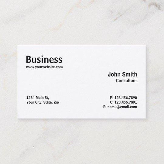 Computer Repair Business Card Best Of Professional Modern Plain Simple Puter Repair Business Card