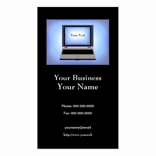 Computer Repair Business Card Best Of Puter Repair Business Card