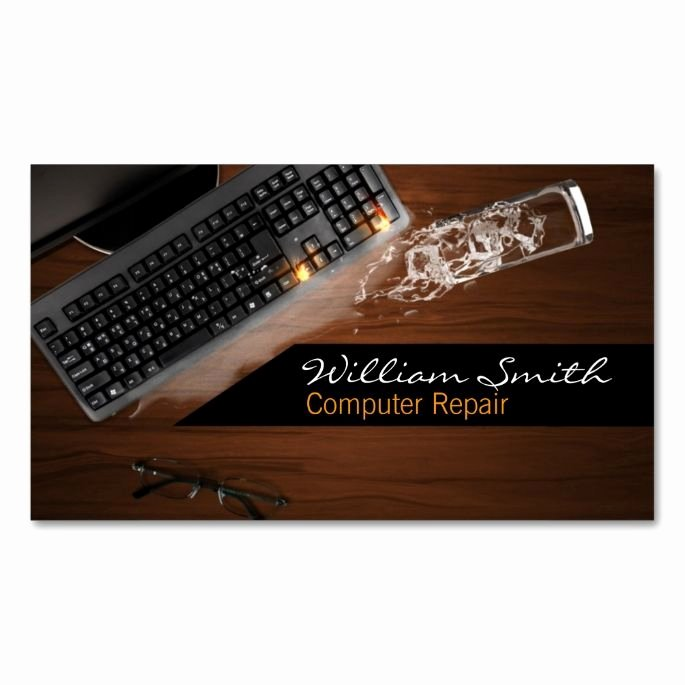 Computer Repair Business Cards Inspirational 1000 Images About Puter Business Card Templates On Pinterest