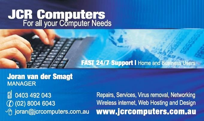 Computer Repair Business Cards Luxury Jcr Puters In Turramurra Sydney Nsw Puter Services & Repair Truelocal