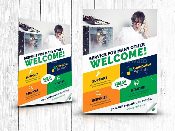 Computer Repair Flyer Template Elegant 26 Puter Repair Flyer Templates Psd Ai Eps format Download