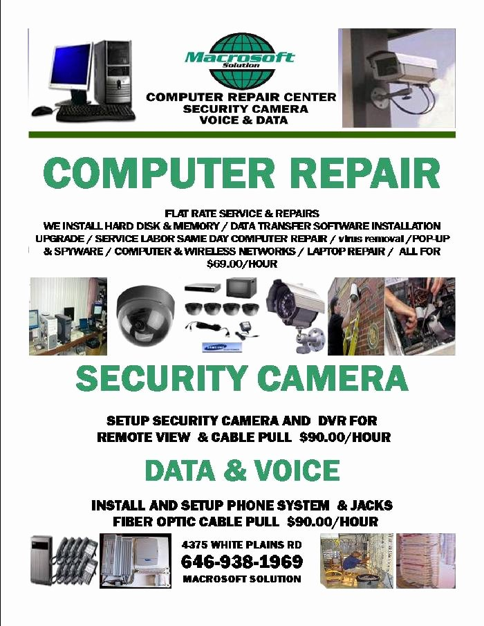 Computer Repair Flyer Templates Awesome Flyer Template Category Page 11 Efoza