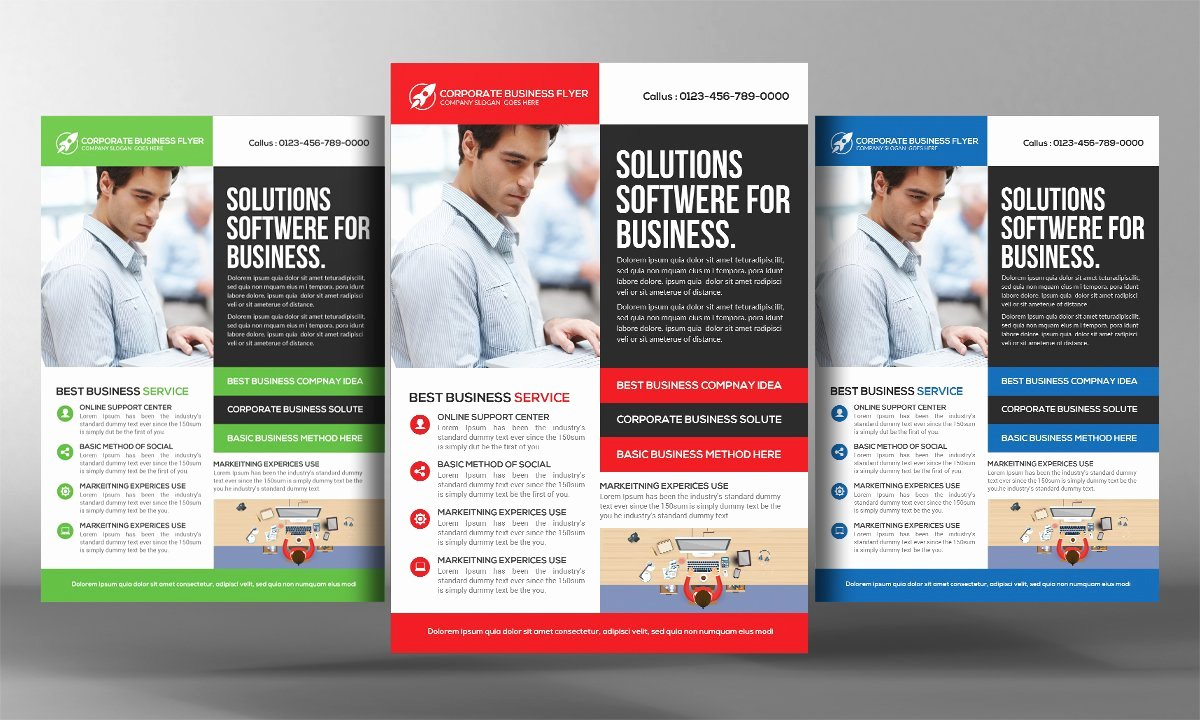 Computer Repair Flyer Templates Beautiful Puter Repair Flyer Template Flyer Templates Creative Market