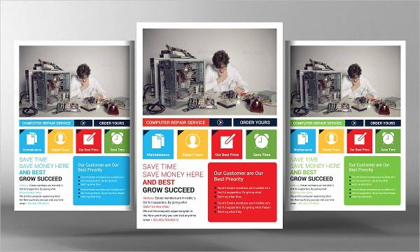Computer Repair Flyer Templates Fresh Puter Repair Flyers 15 Free Psd Vector Ai Eps format Download