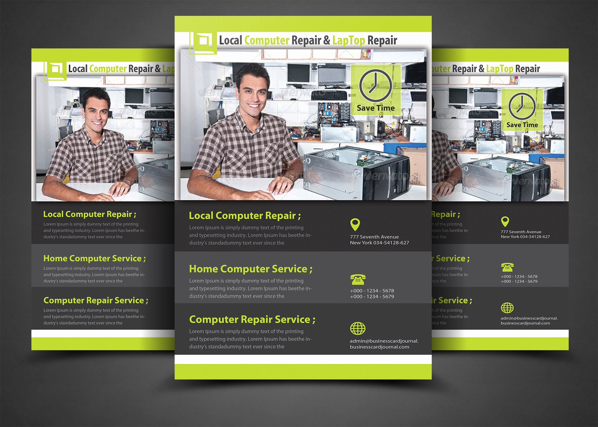 Computer Repair Flyer Templates Lovely Puter Repair Flyer Template Flyer Templates On Creative Market