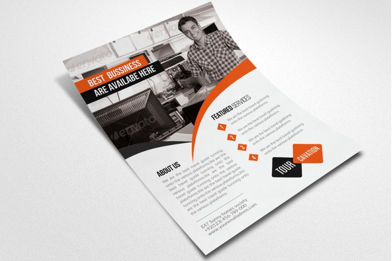 Computer Repair Flyer Templates New Puter Repair Service Flyer Template by Designhub