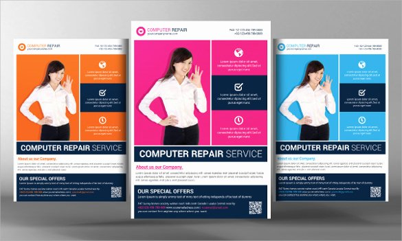 Computer Repair Flyer Templates Unique 27 Best Puter Repair Flyer Templates Word Psd Ai
