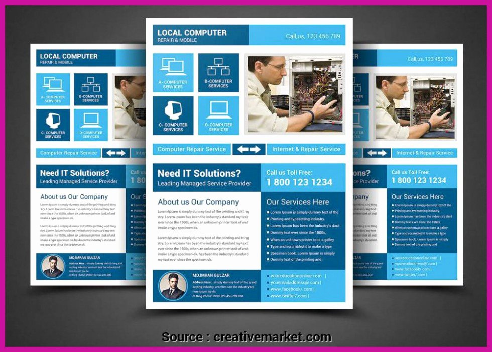Computer Repair Flyers Templates Awesome top Entries Puter Repair Business Flyer Templates Puter Repair Flyer Template Flyer