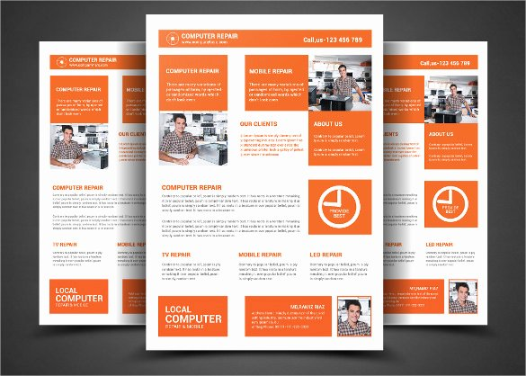 Computer Repair Flyers Templates Best Of 27 Best Puter Repair Flyer Templates Word Psd Ai