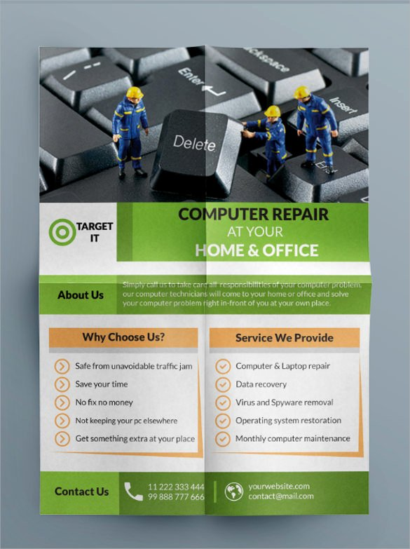 Computer Repair Flyers Templates Elegant 27 Best Puter Repair Flyer Templates Word Psd Ai
