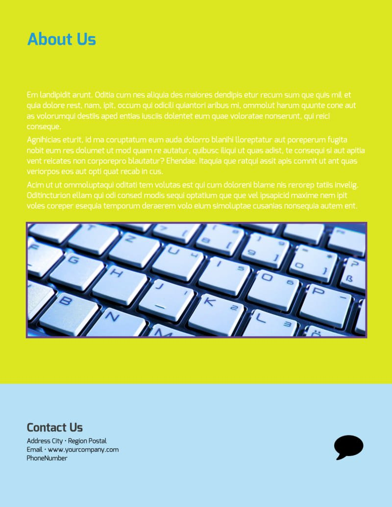 Computer Repair Flyers Templates Elegant Puter Repair Flyer Template