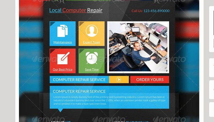 Computer Repair Flyers Templates Fresh 4 Puter Repair Flyer Templates