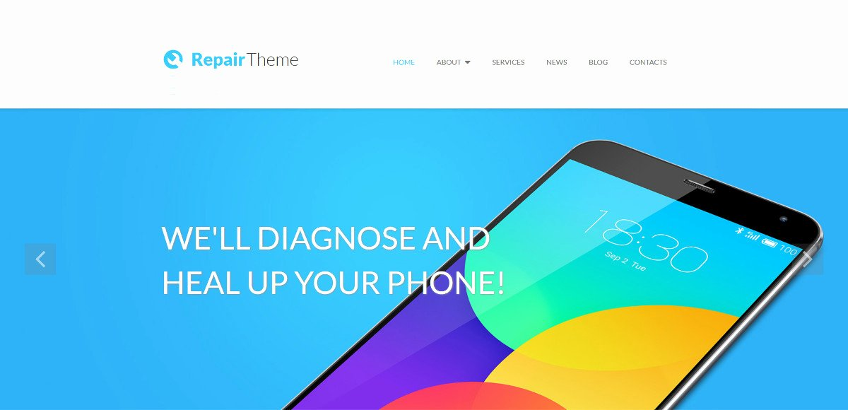 Computer Repair Web Template Luxury 10 Puter Repair Website Templates & themes