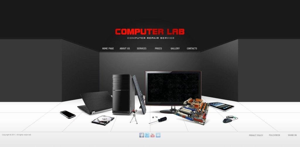 Computer Repair Web Templates Unique Puter Repair Website Template – Printable Year Calendar