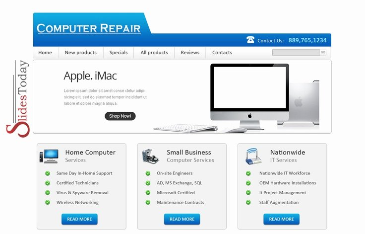 Computer Repair Website Template Free Beautiful 9 Best Web Templates Images On Pinterest