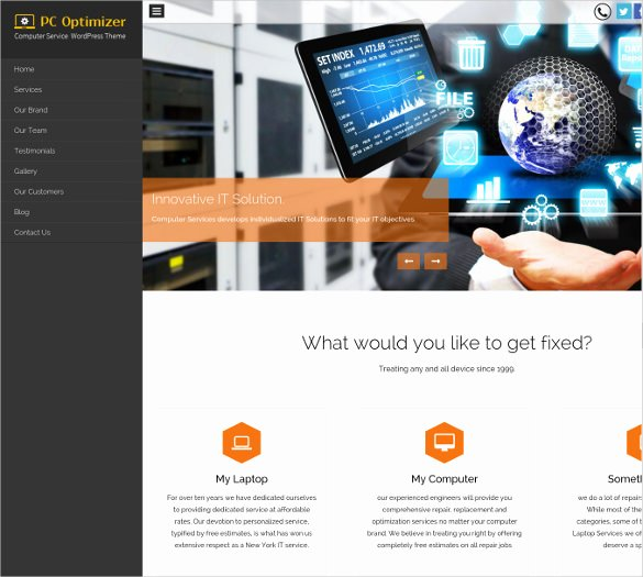 Computer Repair Websites Templates New 28 Puter Repair Website themes & Templates