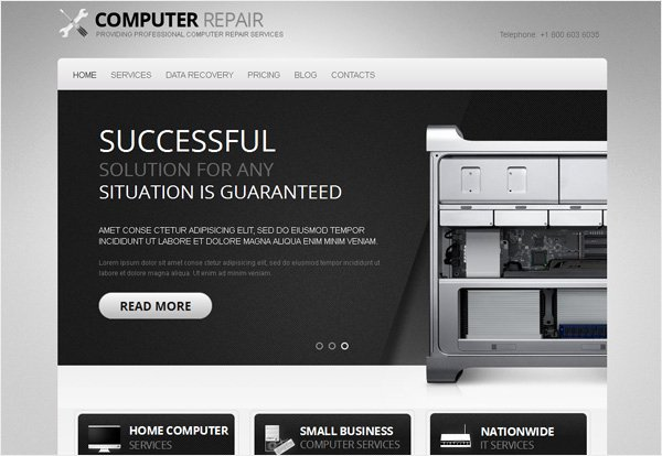 Computer Repair Websites Templates Unique Giveaway 3 Stunning Motocms HTML Templates for Free