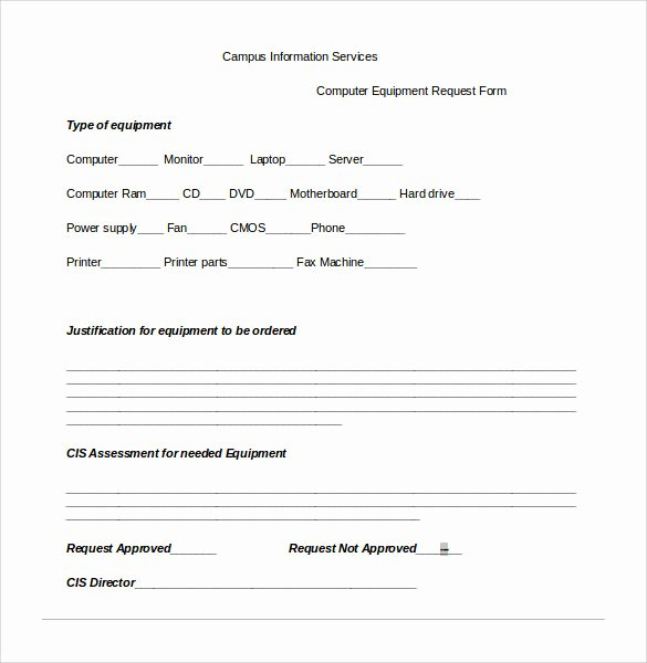 Computer Repair Work order Template Beautiful Sample Puter Service Request form 12 Download Free Documents In Pdf Word
