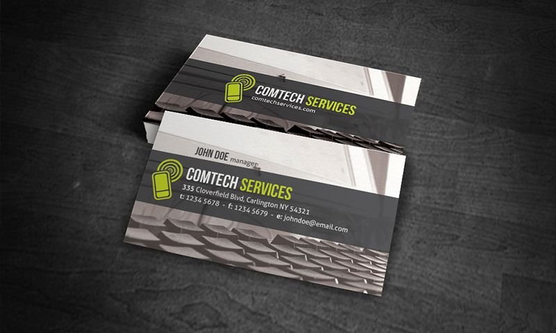 Computer Repairs Business Card Beautiful Free Business Card Template