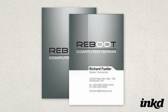 Computer Repairs Business Card Beautiful Puter Repair Business Card by Inkddesign On Deviantart