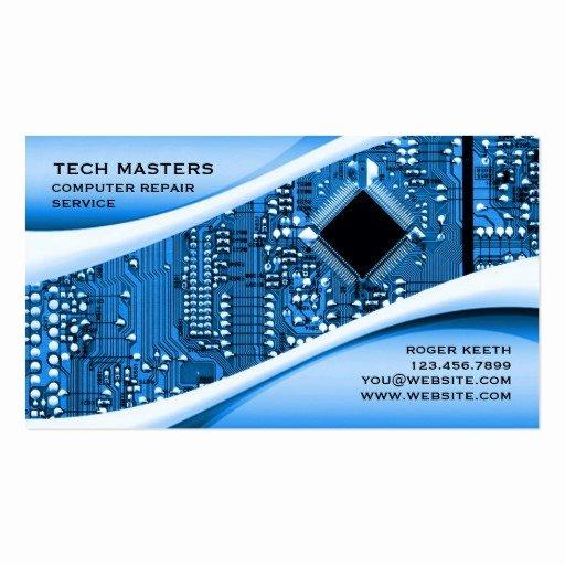 Computer Repairs Business Card Best Of Puter Repair Business Card