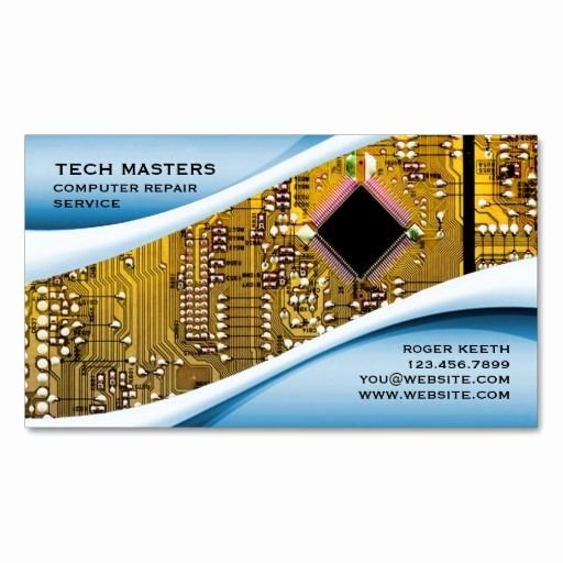 Computer Repairs Business Card Fresh 133 Best Images About Puter Repair Business Cards On