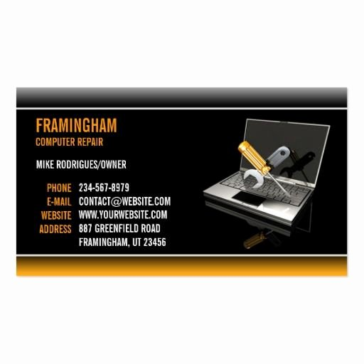 Computer Repairs Business Card Lovely 133 Best Images About Puter Repair Business Cards On