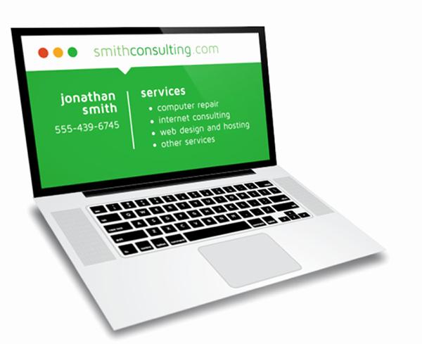 Computer Repairs Business Card Luxury Laptop Puter Repair Business Card Design On Behance