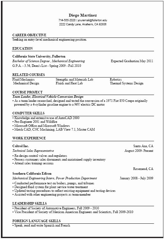 Computer Science Resume Example Unique Puter Science Resume Templates Samplebusinessresume Samplebusinessresume