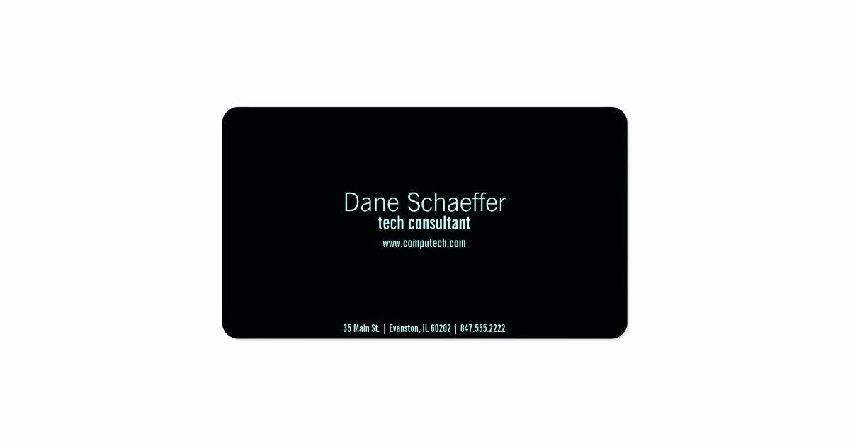 Computer Technician Business Card Inspirational Puter Tech Business Card