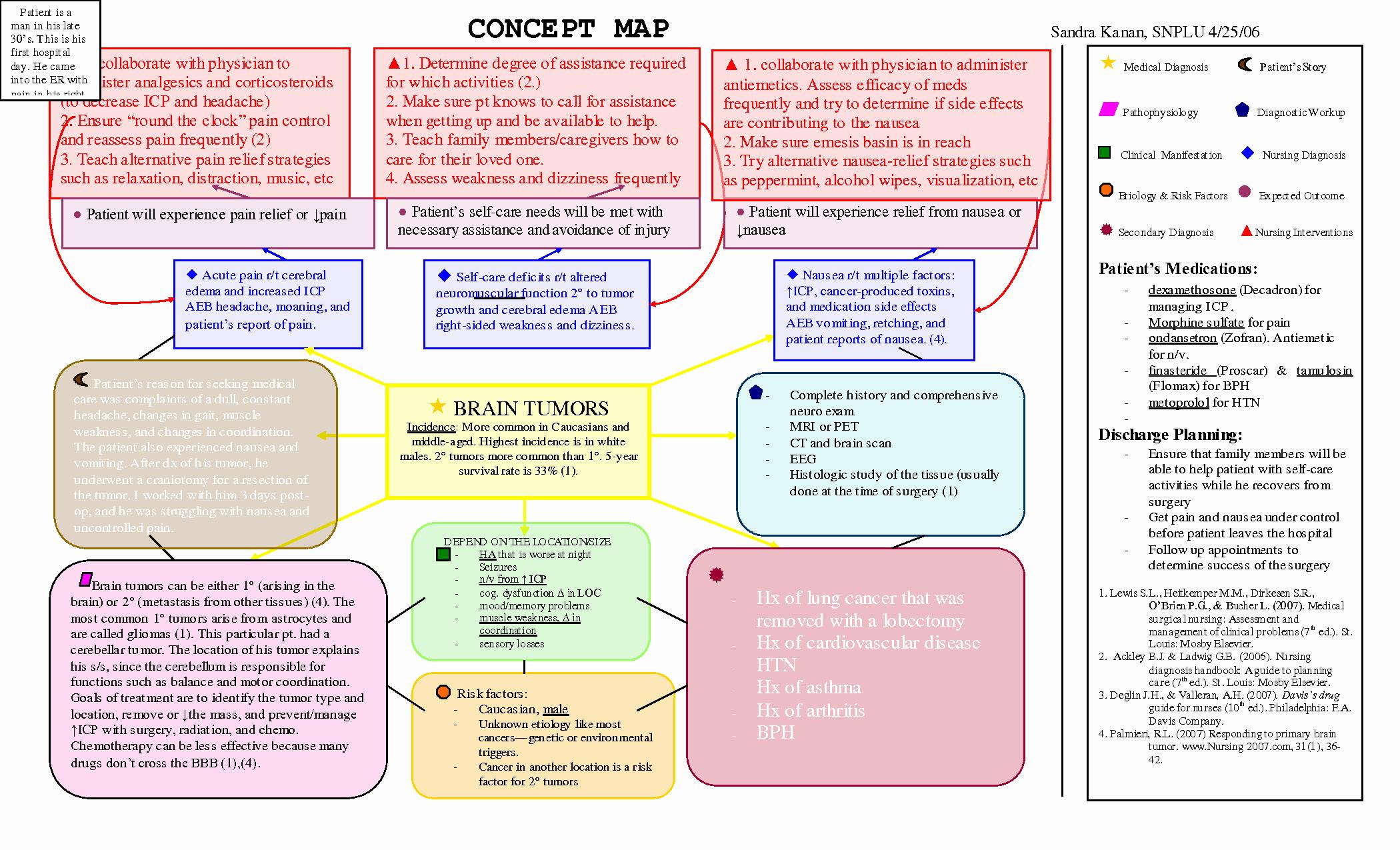 Concept Map Template Nursing Elegant Scope Of Work Template Nursing