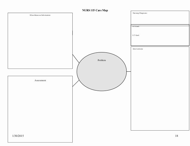Concept Map Template Nursing Fresh 21 Of ati Concept Map Template