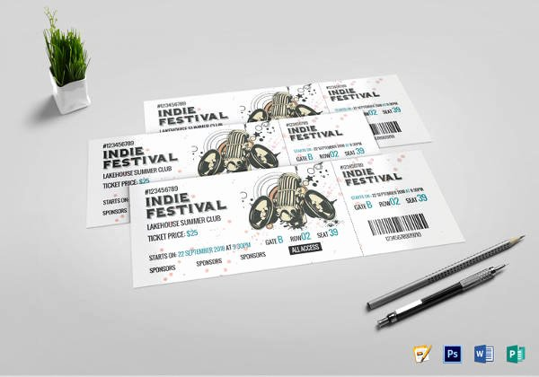 Concert Ticket Template Psd Lovely 34 Sample Concert Ticket Templates Psd Ai Eps Word