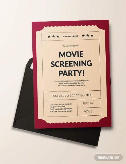 Concert Ticket Template Psd Luxury 16 Movie Ticket Invitation Designs & Templates Psd Ai