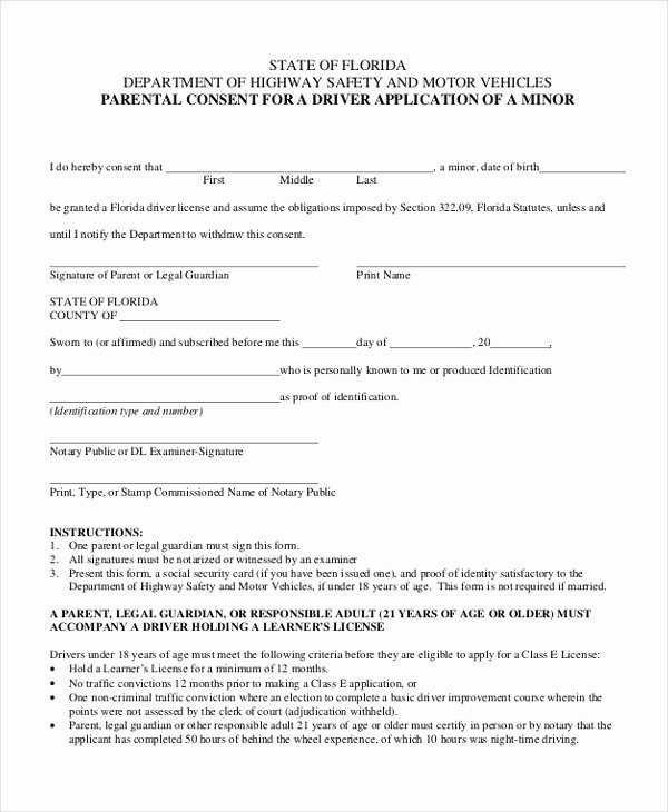 Consent form Sample for Parents Luxury Free 10 Sample Parental Consent forms In Pdf