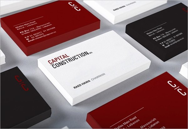 Construction Business Cards Samples Beautiful 32 Construction Business Template Ms Word Coreldraw Shop