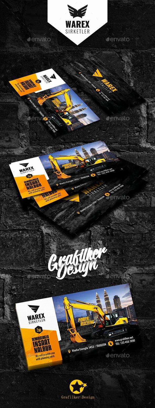 Construction Business Cards Samples Beautiful Best 25 Business Card Templates Ideas On Pinterest