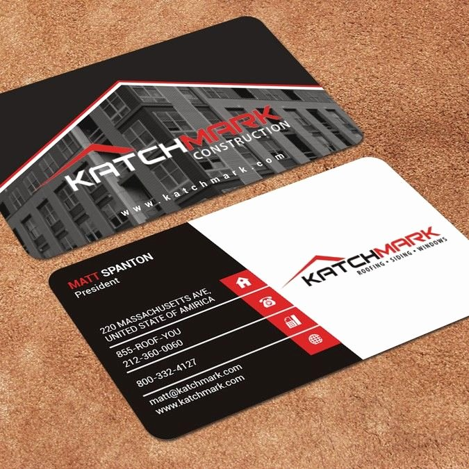 Construction Business Cards Samples Best Of Construction Pany Needs Simple Eye Catching Design Fast by Pig Poppy