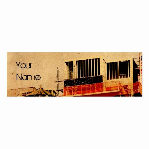 Construction Business Cards Samples Lovely Grunge Construction Business Card Template