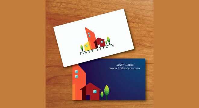 Construction Company Business Cards Beautiful Real Estate Business Cards In Los Angeles Best solution for You