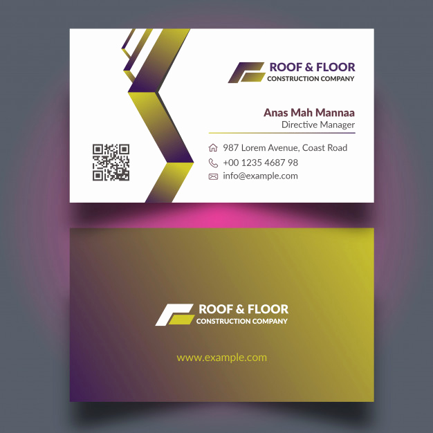 Construction Company Business Cards Best Of top 28 Examples Of Unique Construction Business Cards