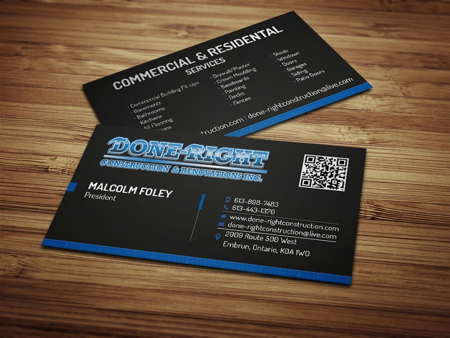 Construction Company Business Cards Elegant Coupon Card Salon Designful Web & Multimedia Design