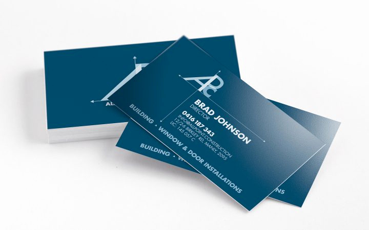 Construction Company Business Cards Elegant top 28 Examples Of Unique Construction Business Cards