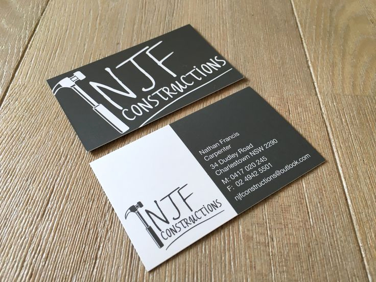 Construction Company Business Cards Luxury top 28 Examples Of Unique Construction Business Cards
